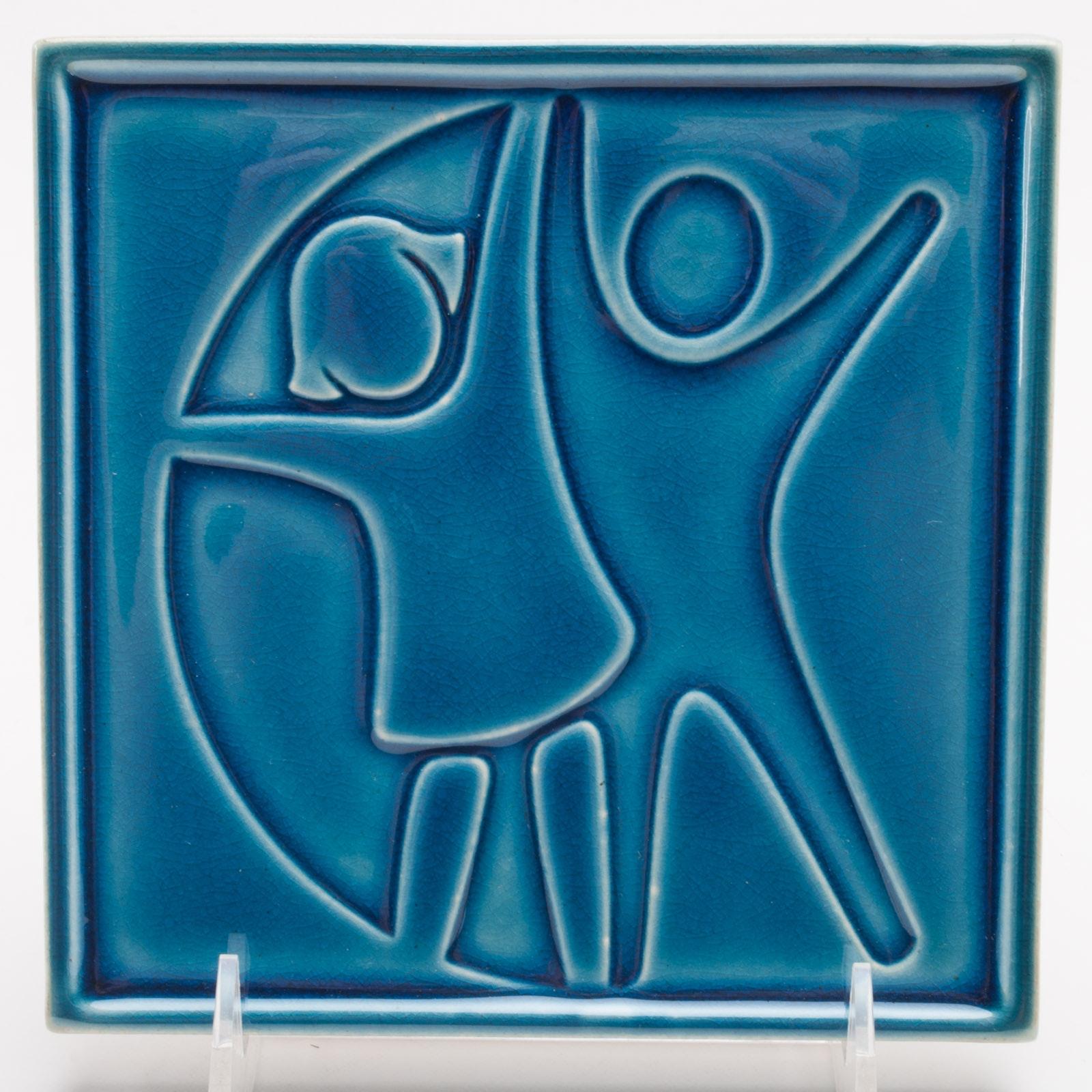 Rookwood Pottery Tile for Cincinnati Children's Hospital Medical Center
