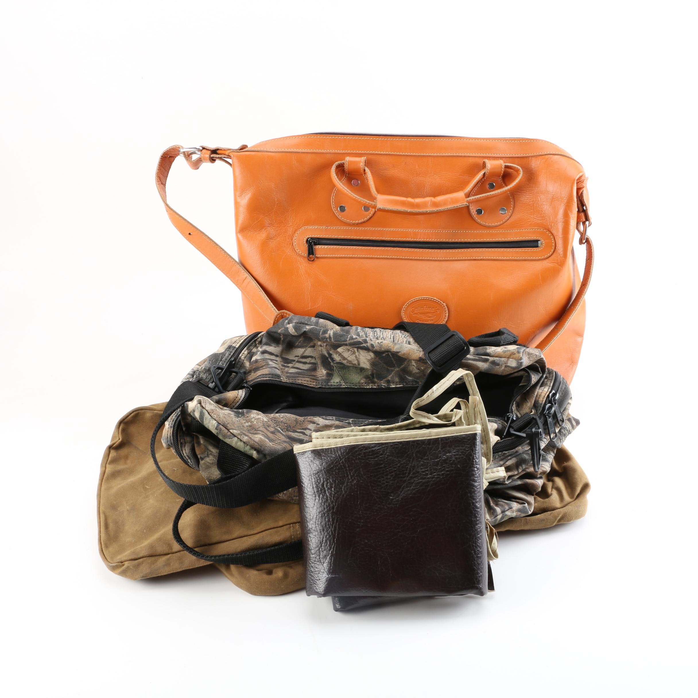 Catalina's Leather Handbag, Rifle Bag and Ammo Carrying Accessories