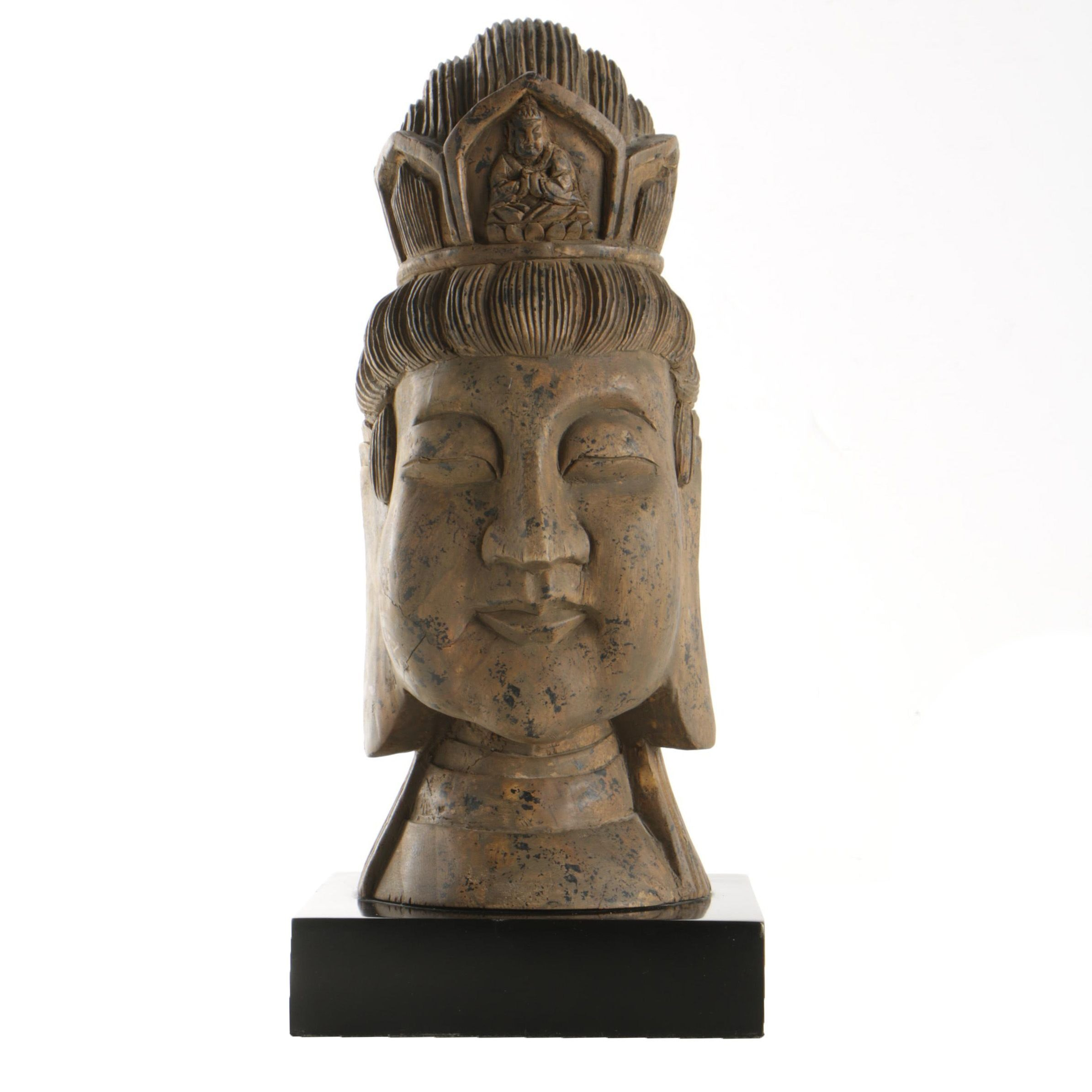 Carved Bust of the Buddha