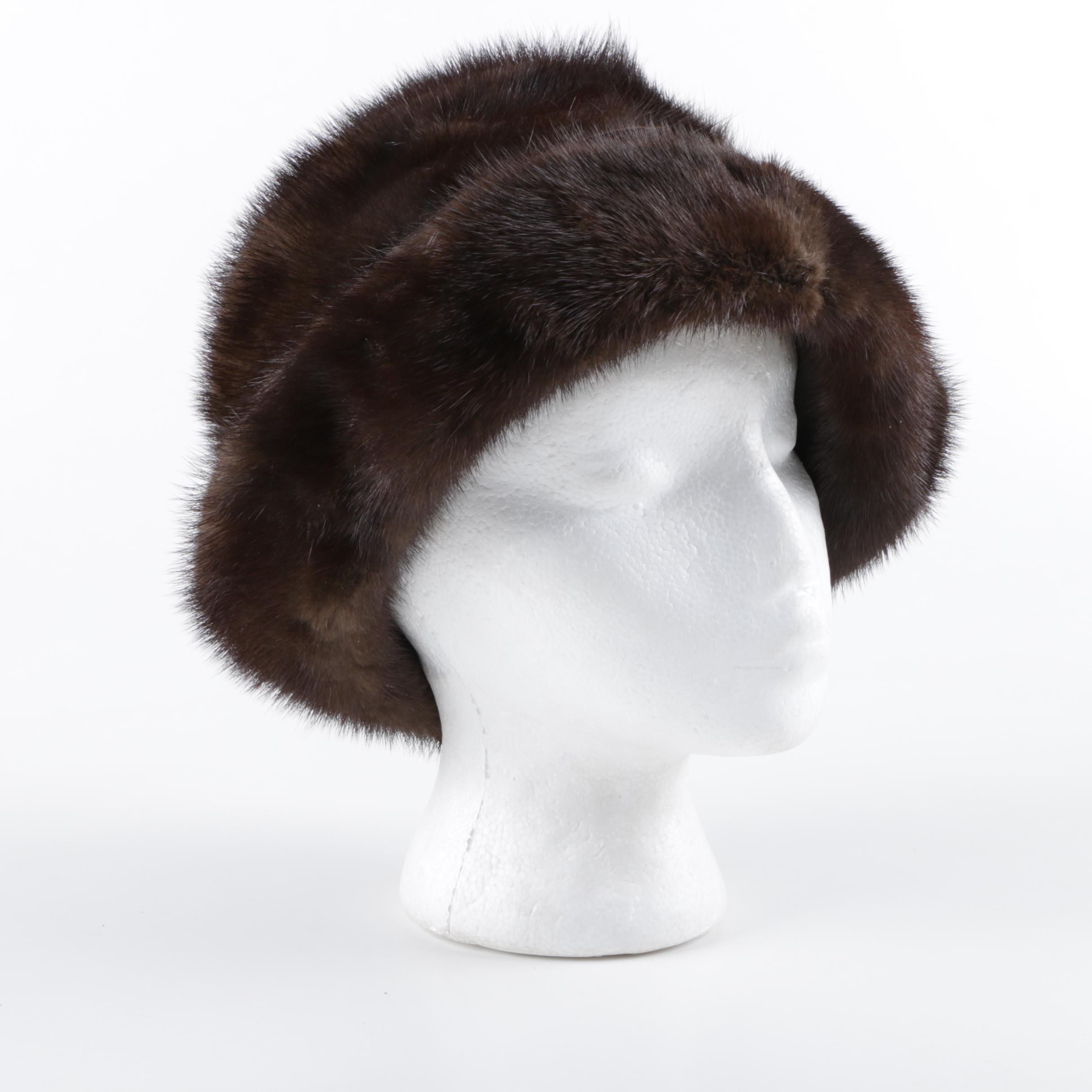Women's Mink Fur Hat