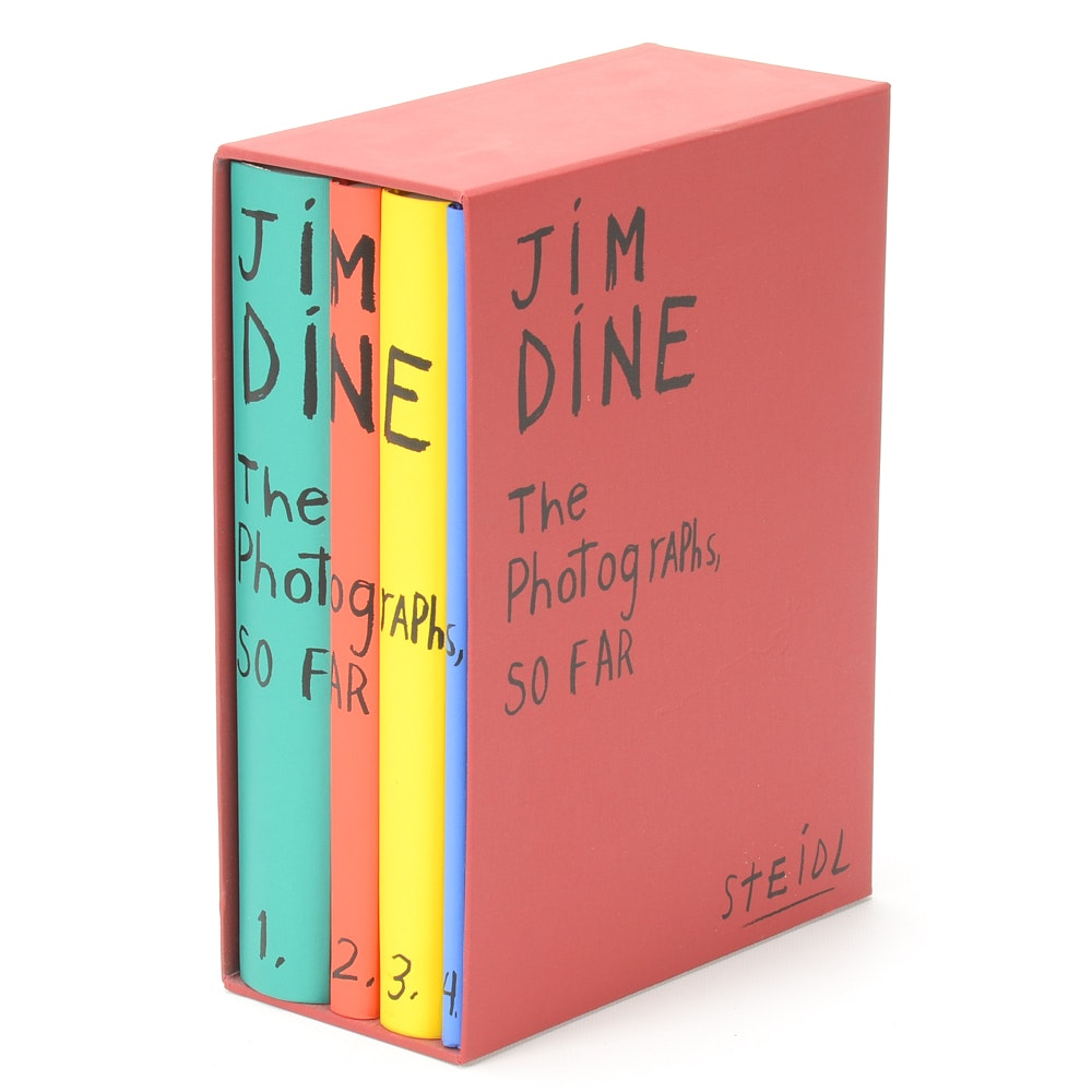 "First Edition ""Jim Dine: The Photographs, So Far"" Book"