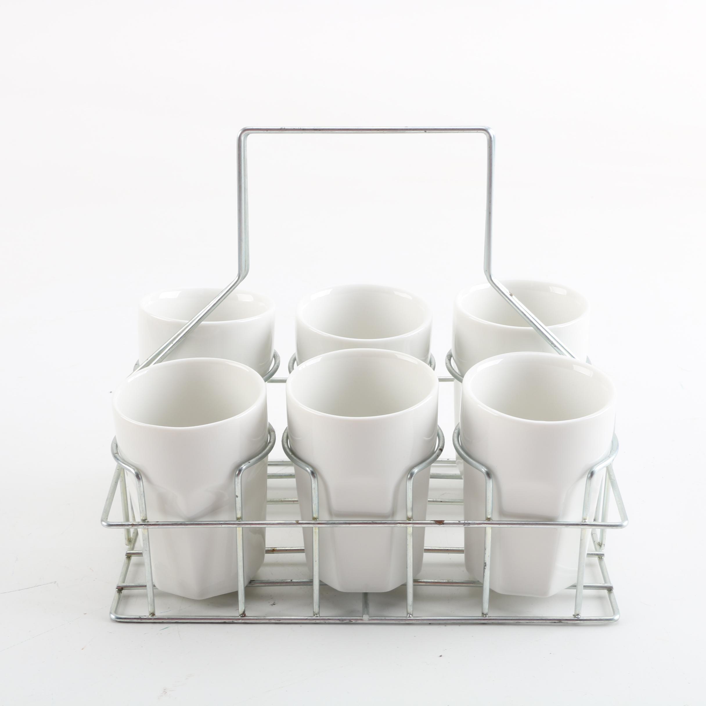 """Bella Cucina """"Casa Collegione"""" Cups and Stand"""