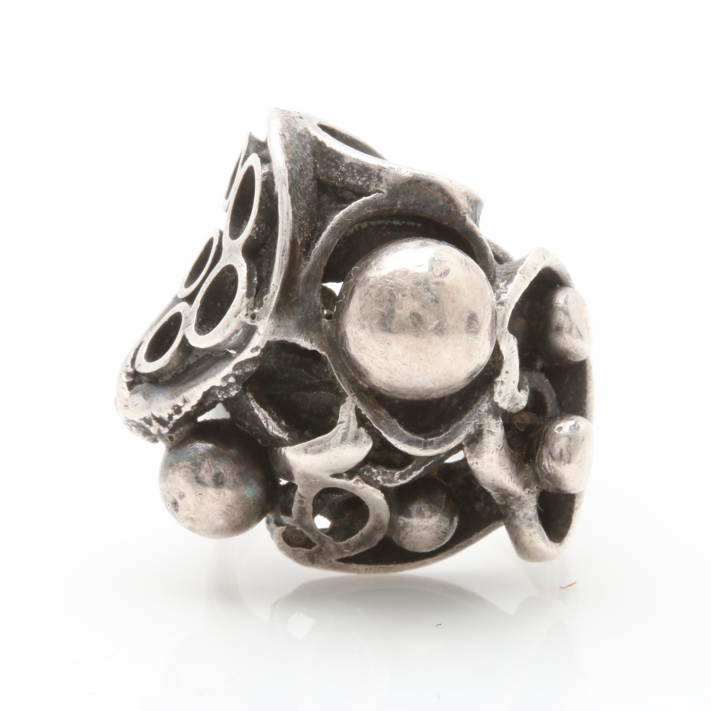 David Andersen Norwegian Sterling Silver Ring