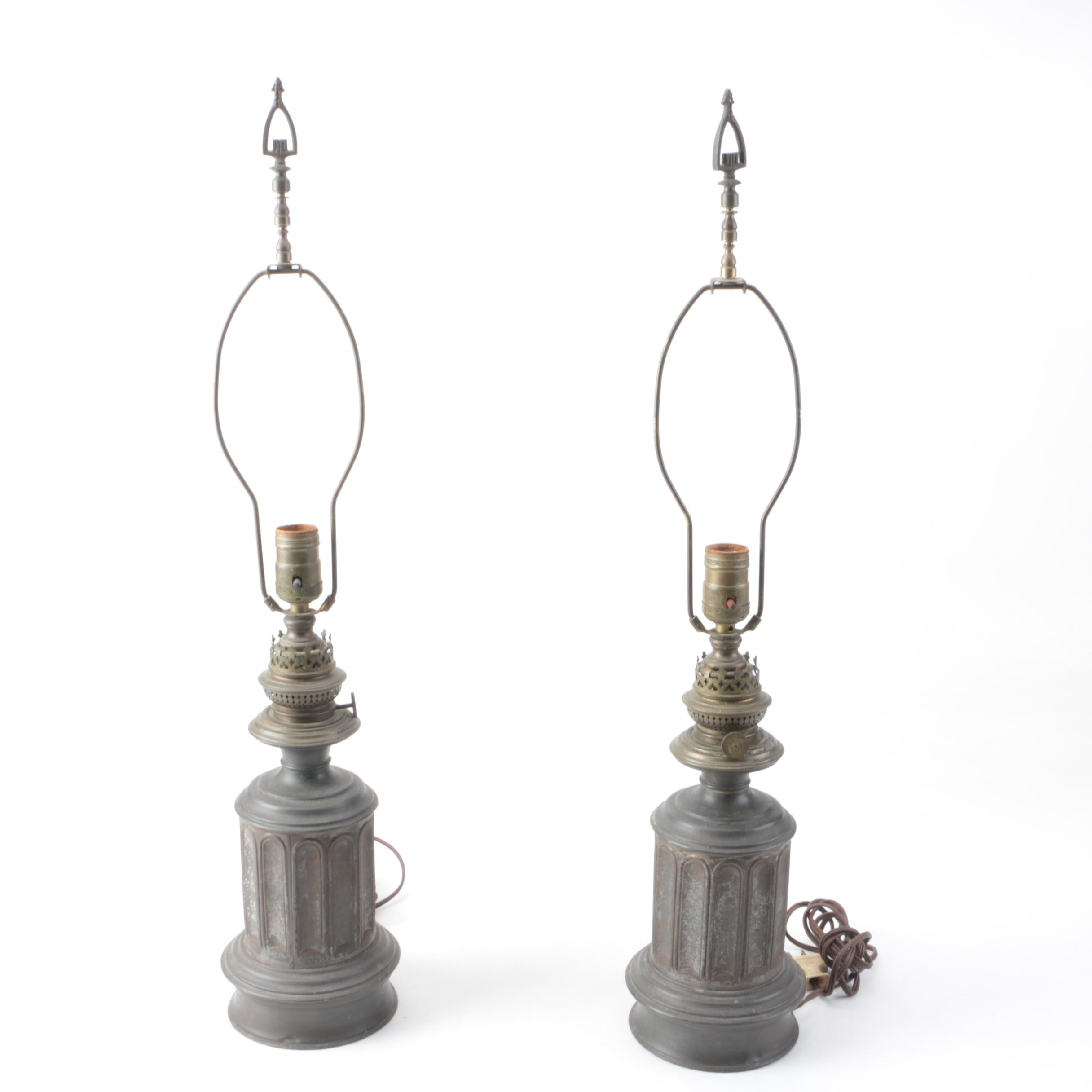 Pair of Vintage Wild & Wessel Table Lamps