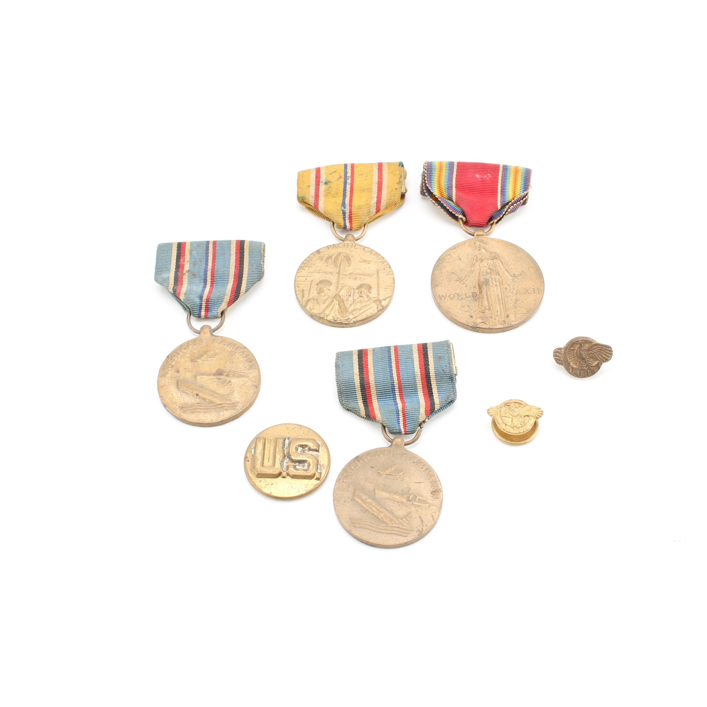 United States World War II Medals