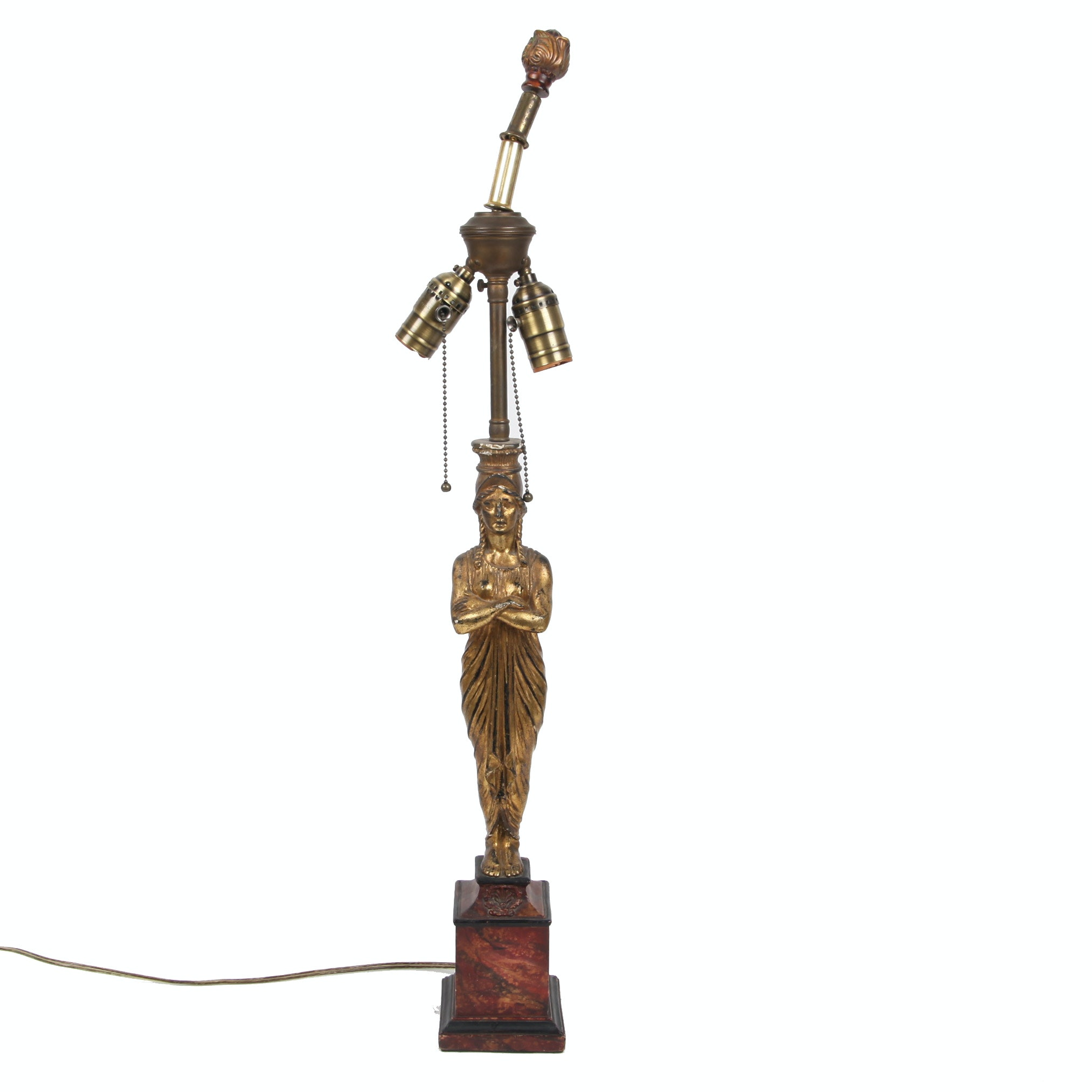 Art Deco Style Grecian Muse Table Lamp