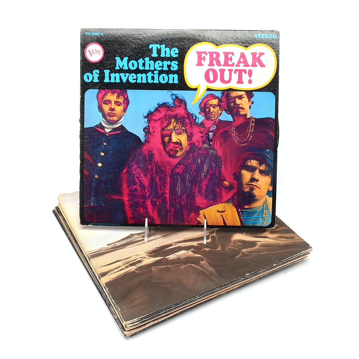 Vintage Rock LPs including Bob Dylan