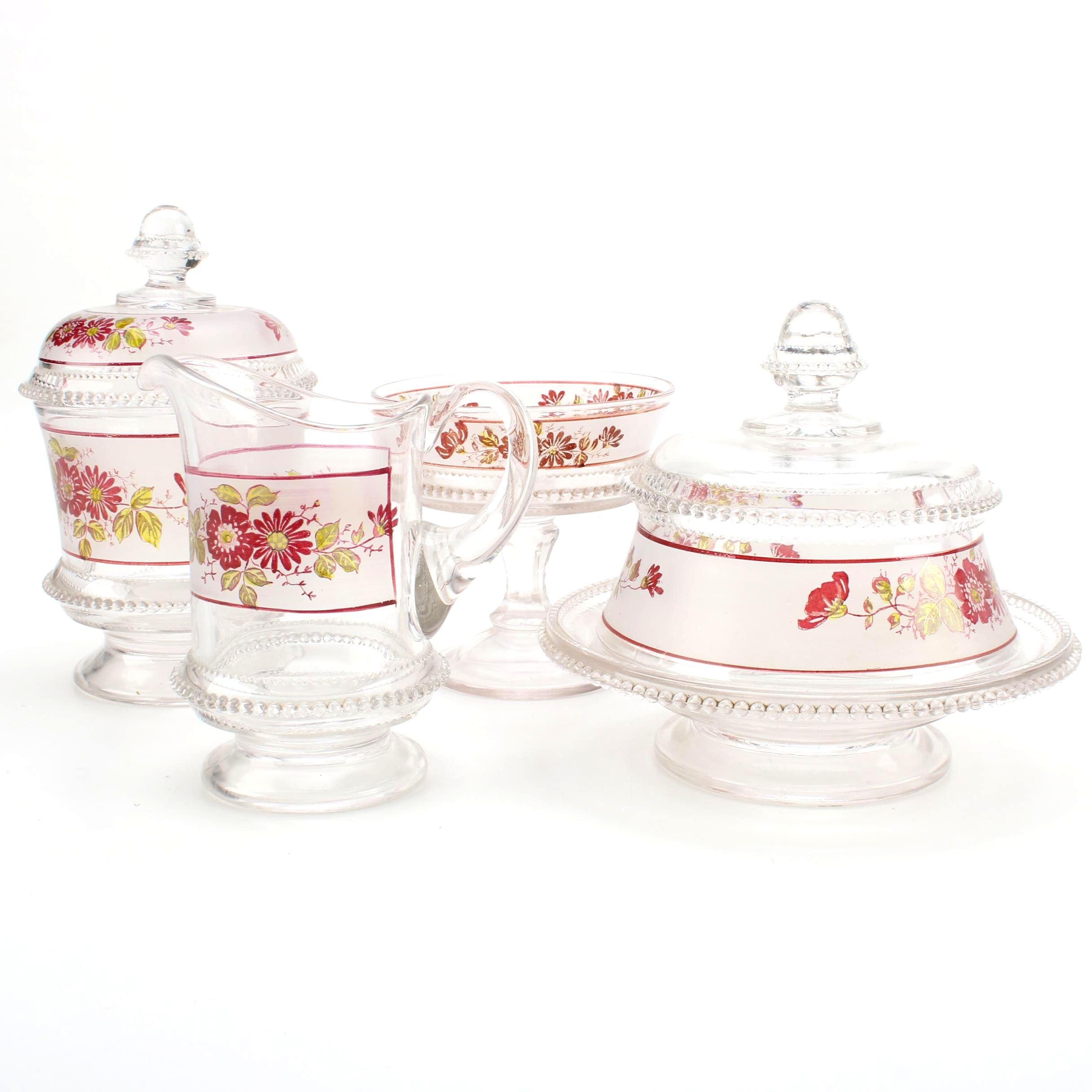 Vintage Glass Serveware