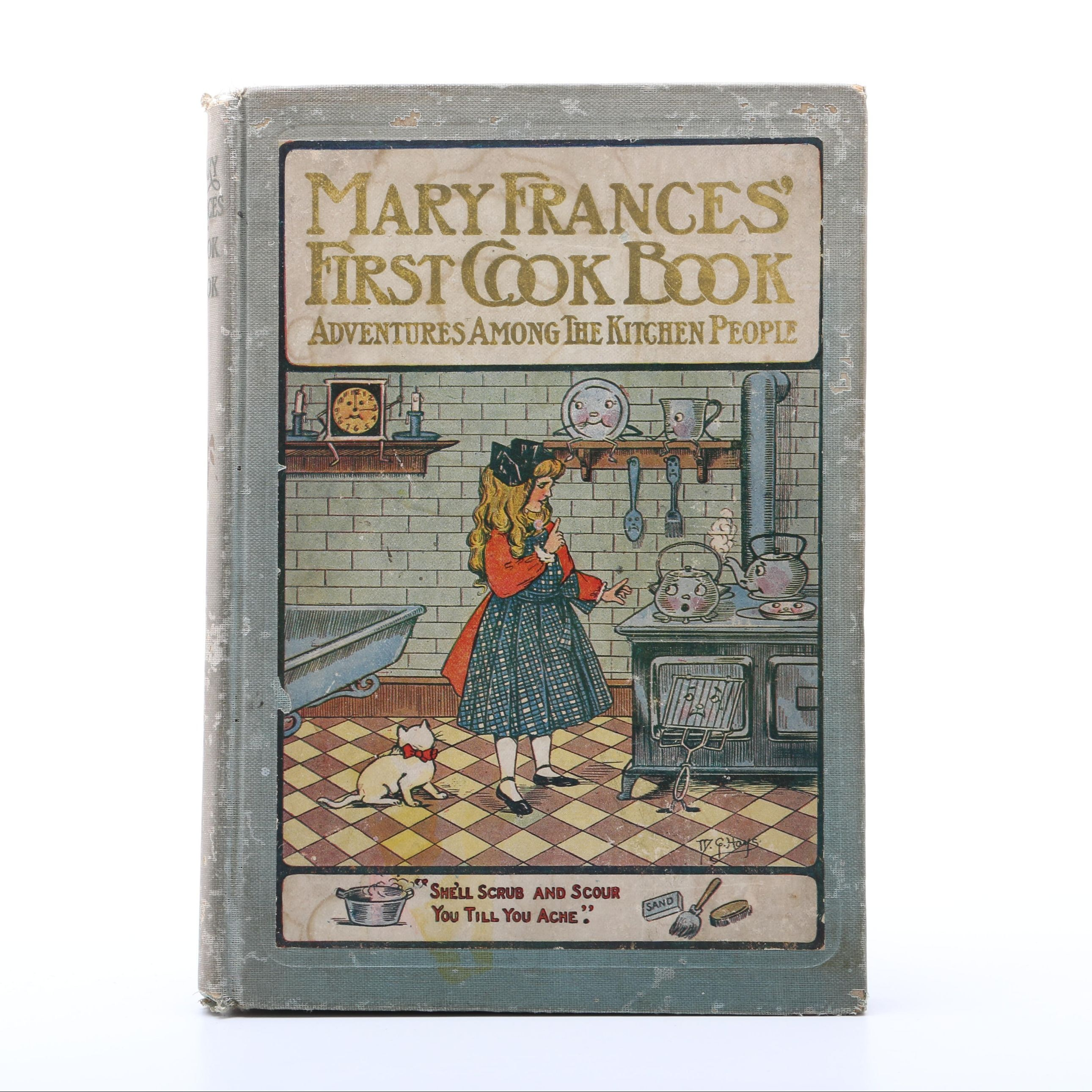 """1912 """"The Mary Frances Cook Book"""" by Jane Eayre Fryer"""