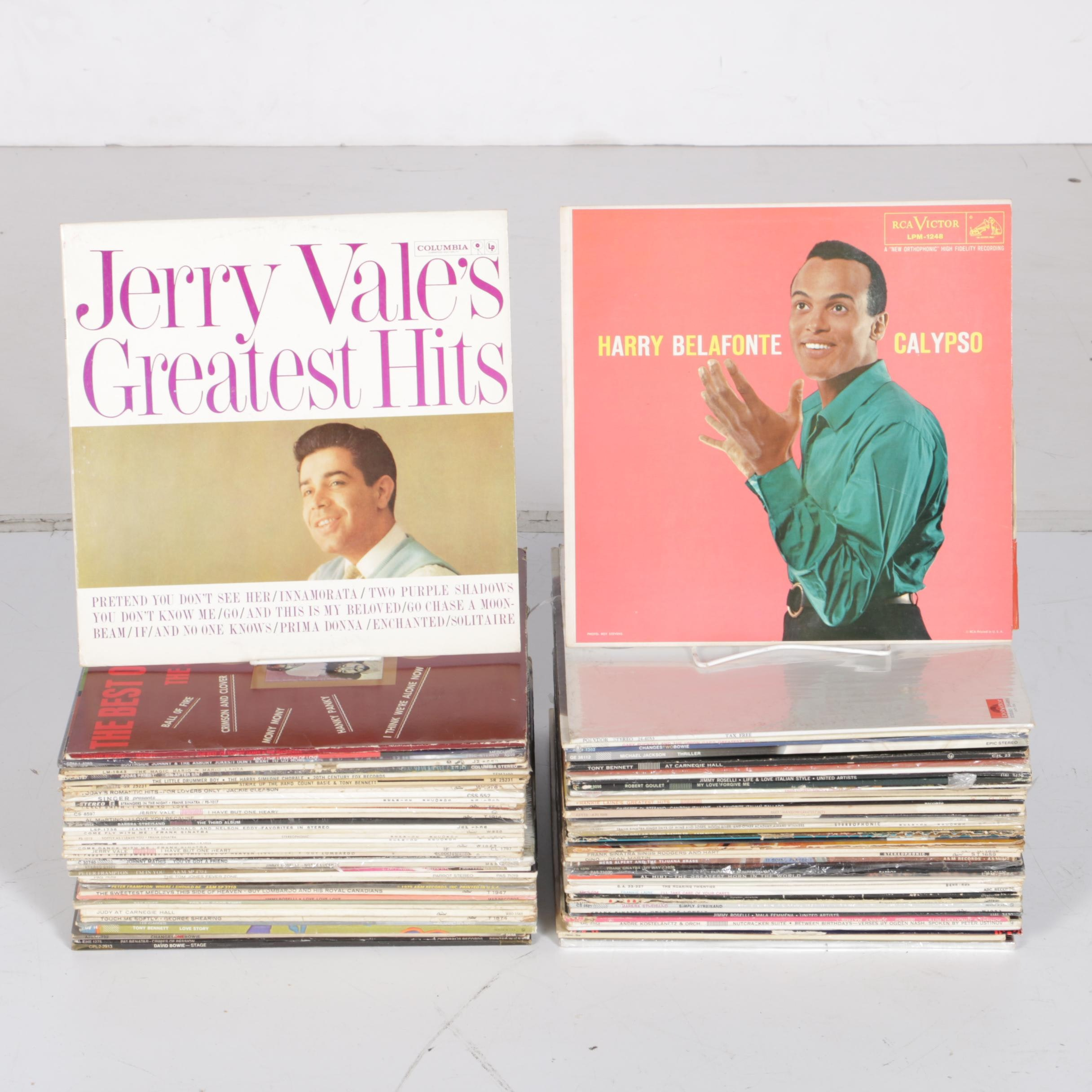 Barry Manilow, Tom Jones, Harry Belafonte, and Other Records