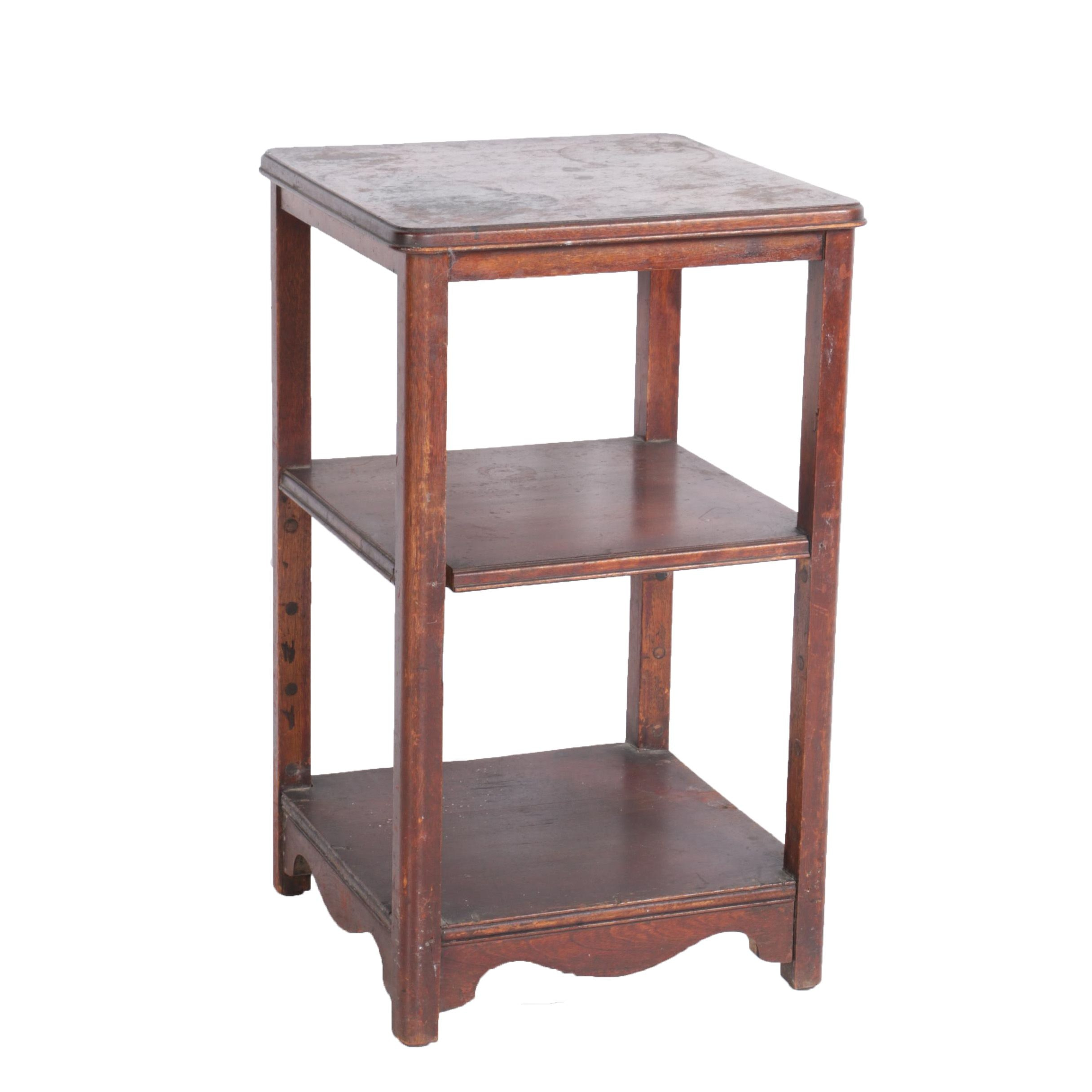 Vintage Tiered Accent Table