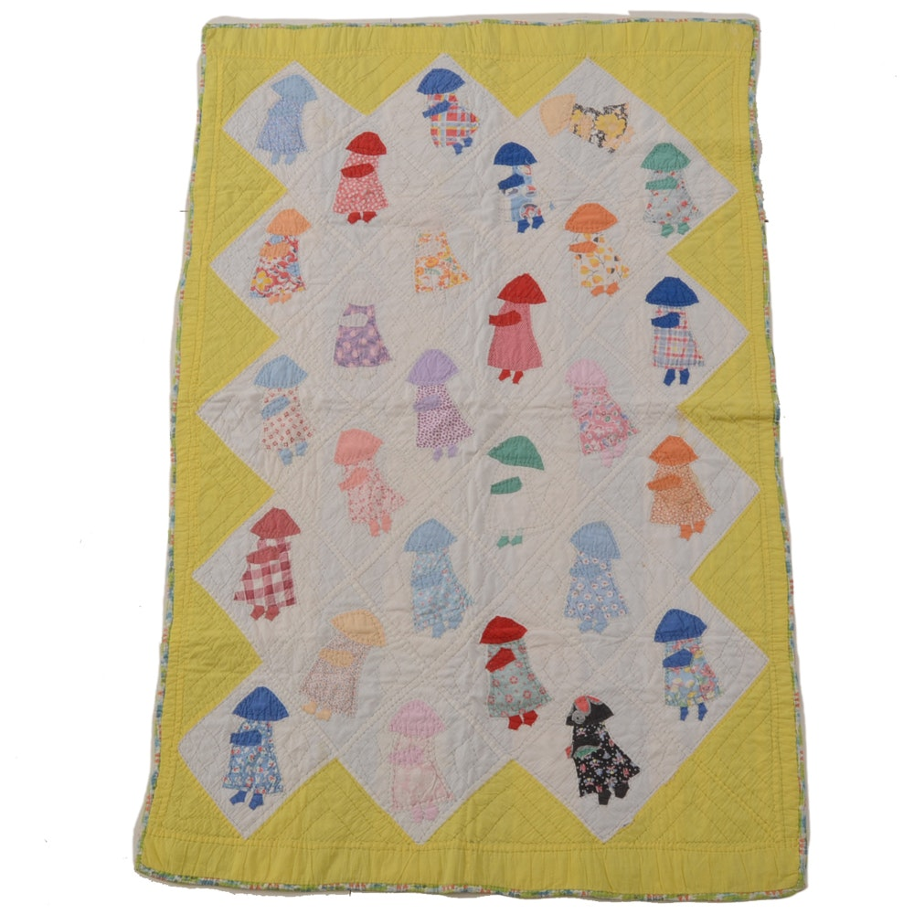 Handmade Dutch Girl Style Quilt
