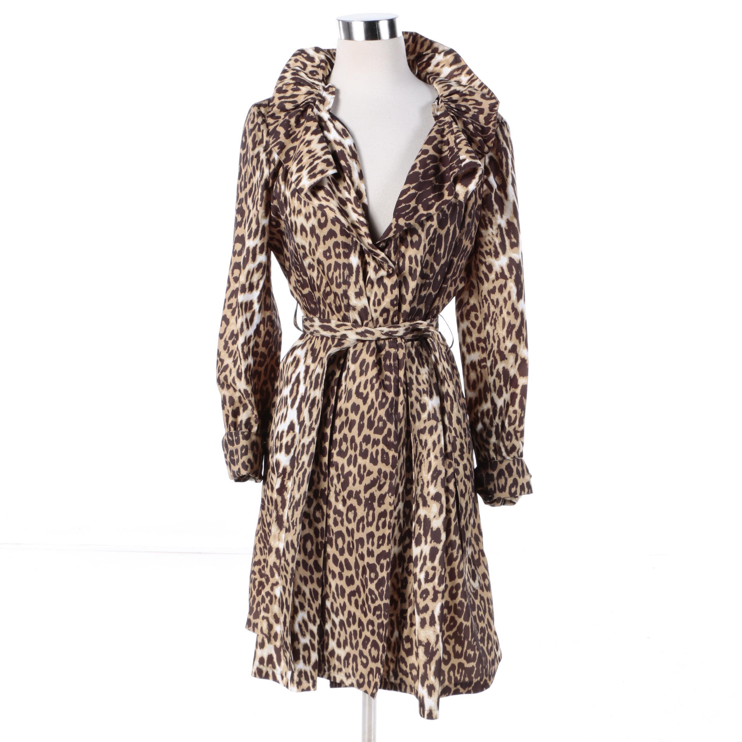 Women's Tahari Leopard Print Jacket