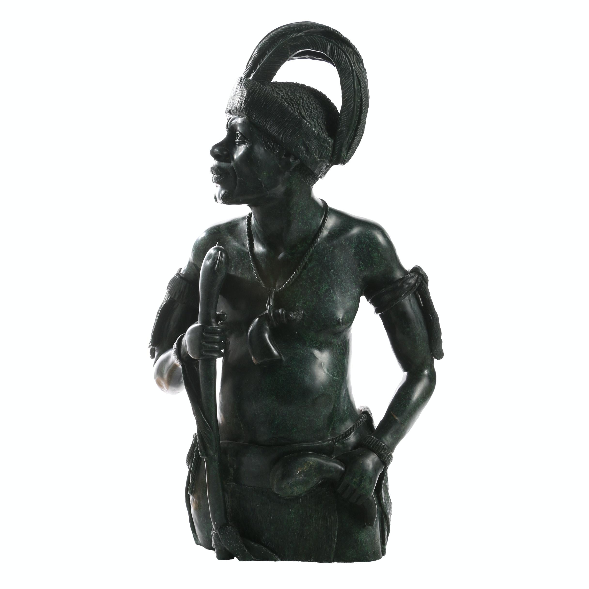 Abraham R. Chikumbirike Soapstone Sculpture