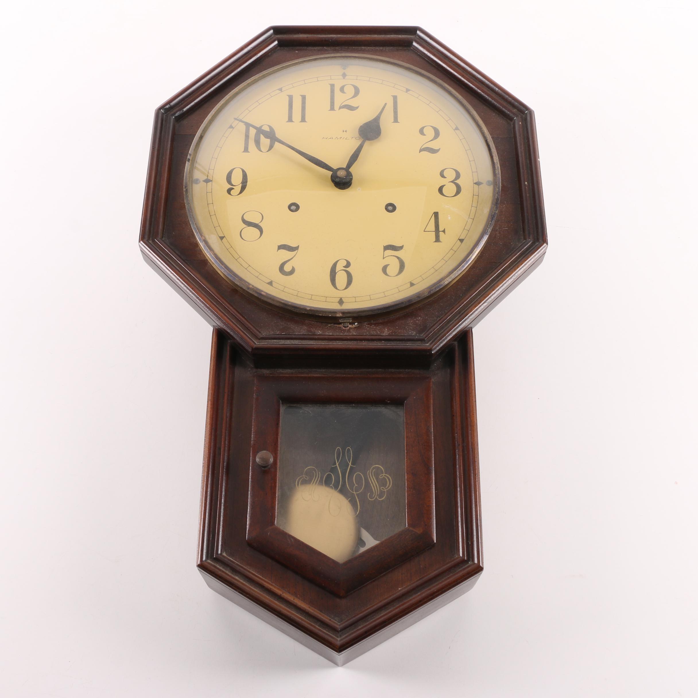 Hamilton Regulator Wall Clock