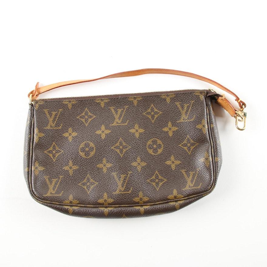 fb75b2490 2000 Louis Vuitton Monogram Canvas Accessories Pochette Handbag : EBTH