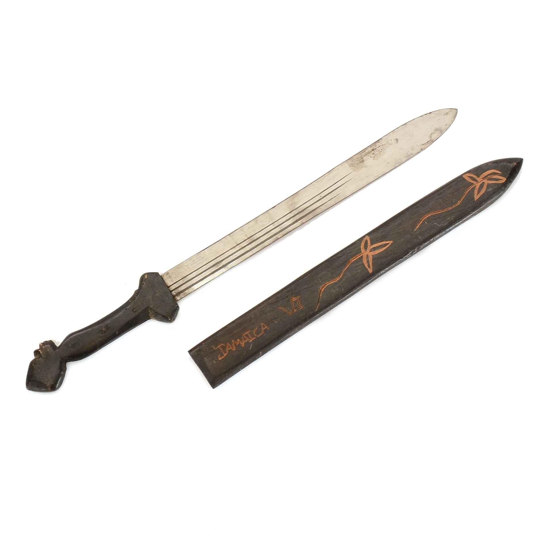 Replica Gladius Style Sword with Wooden Sleeve