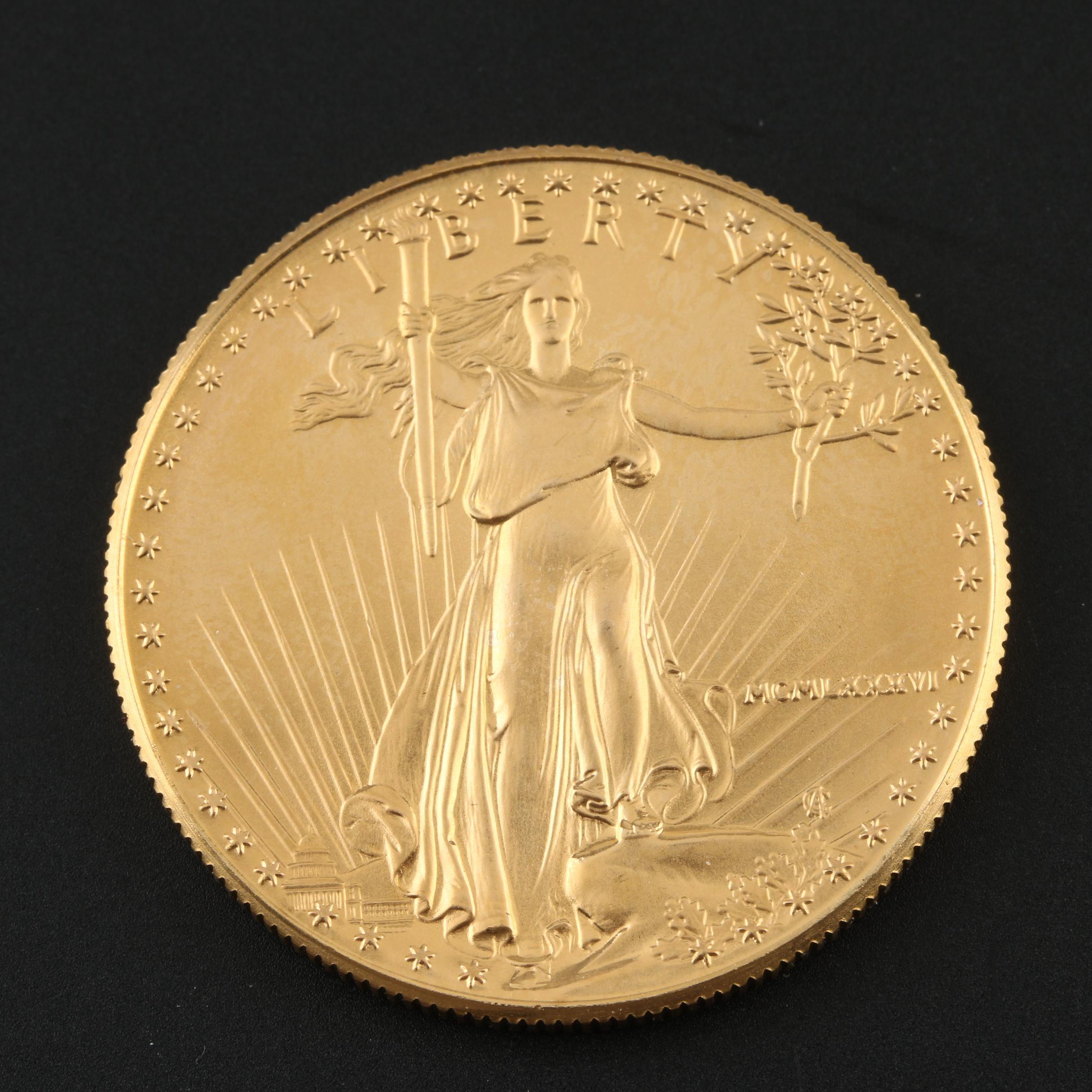 1986 $50 Gold Eagle Bullion Coin