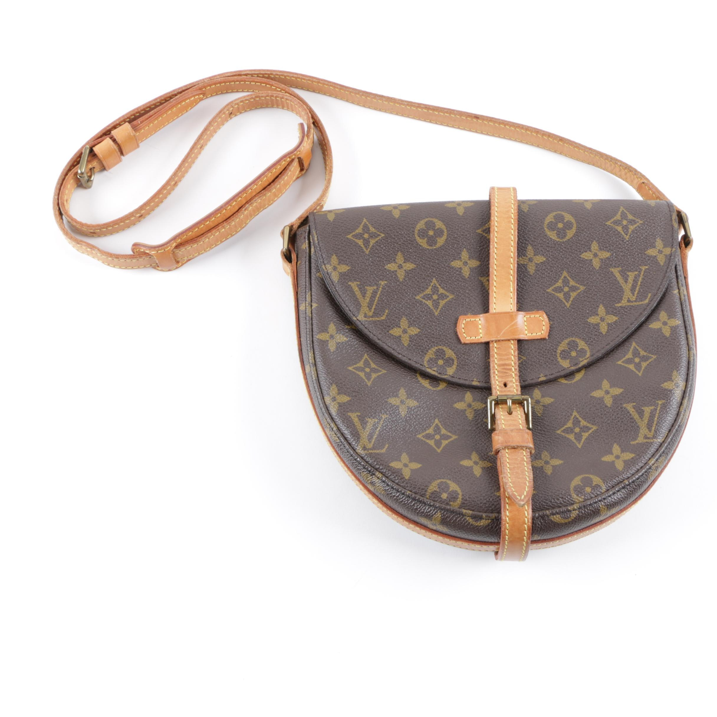 Vintage Louis Vuitton Monogram Chantilly MM Crossbody Bag