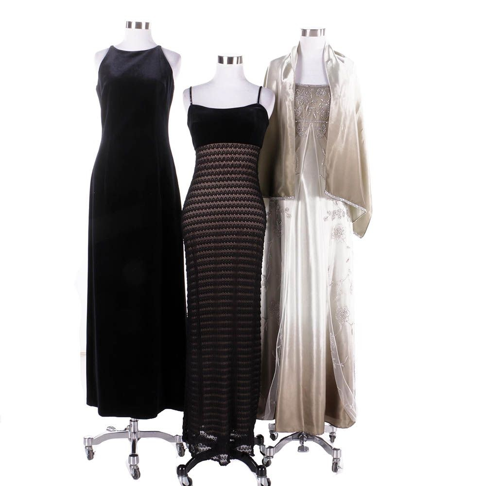Women's Evening Gowns Including Caché and Laundry by Shelli Segal
