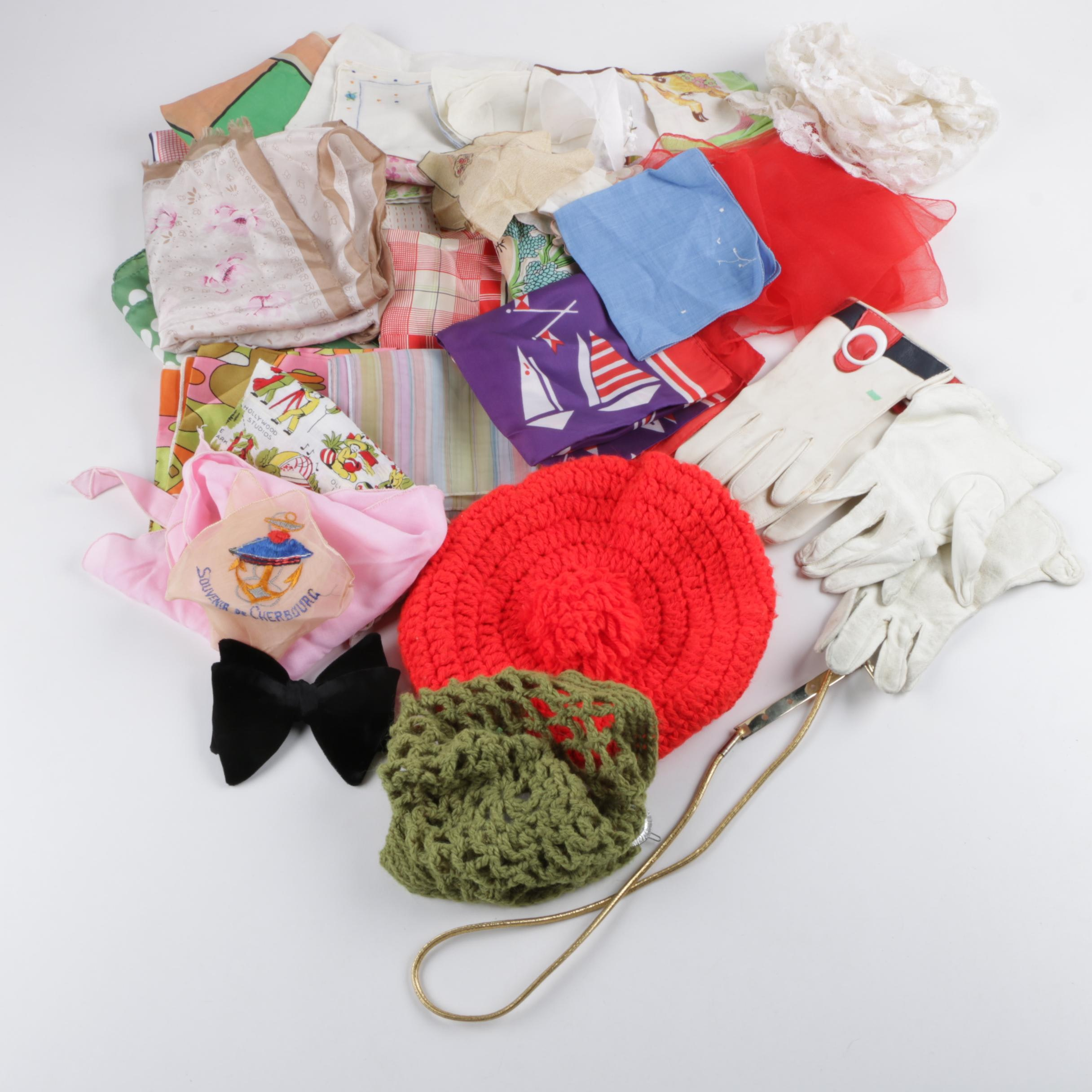 Women's Vintage Scarves and Accessories