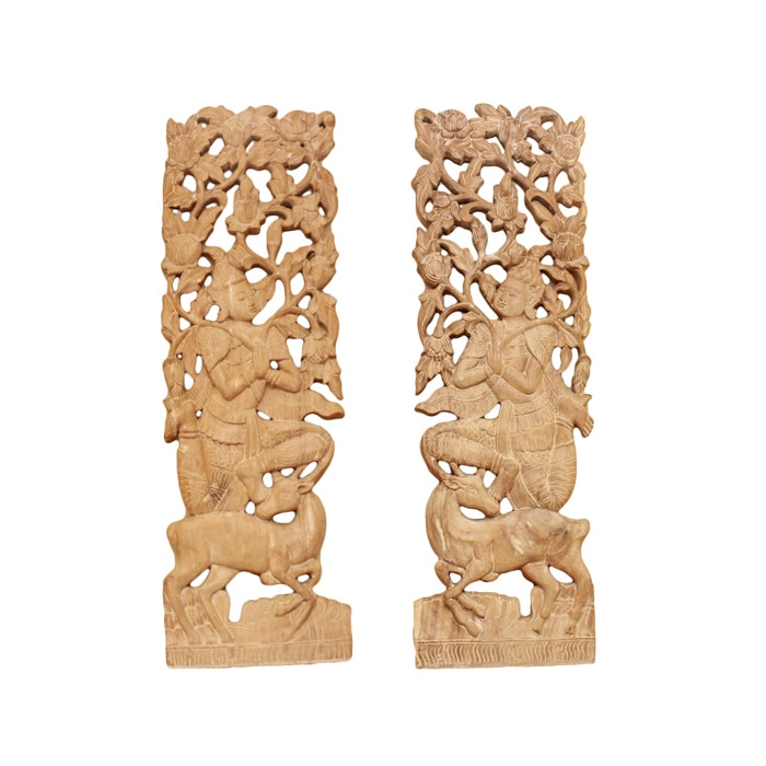 Thai Style Wooden Carvings