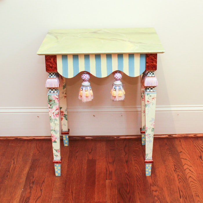 MacKenzie-Child's Accent Table