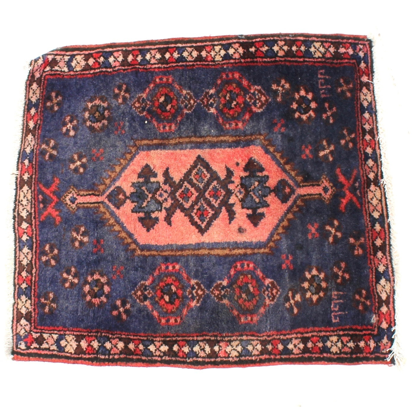 Semi-Antique Hand-Knotted Signed Northwest Persia Rug