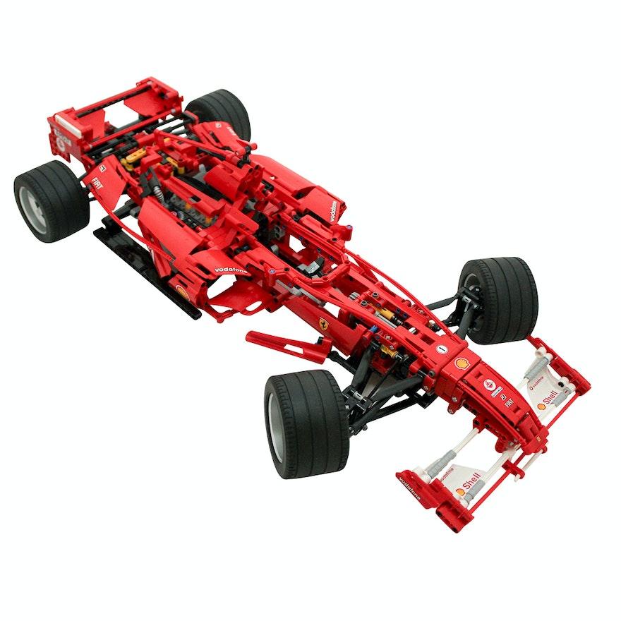 lego racers ferrari f1 racer model 8674 ebth. Black Bedroom Furniture Sets. Home Design Ideas