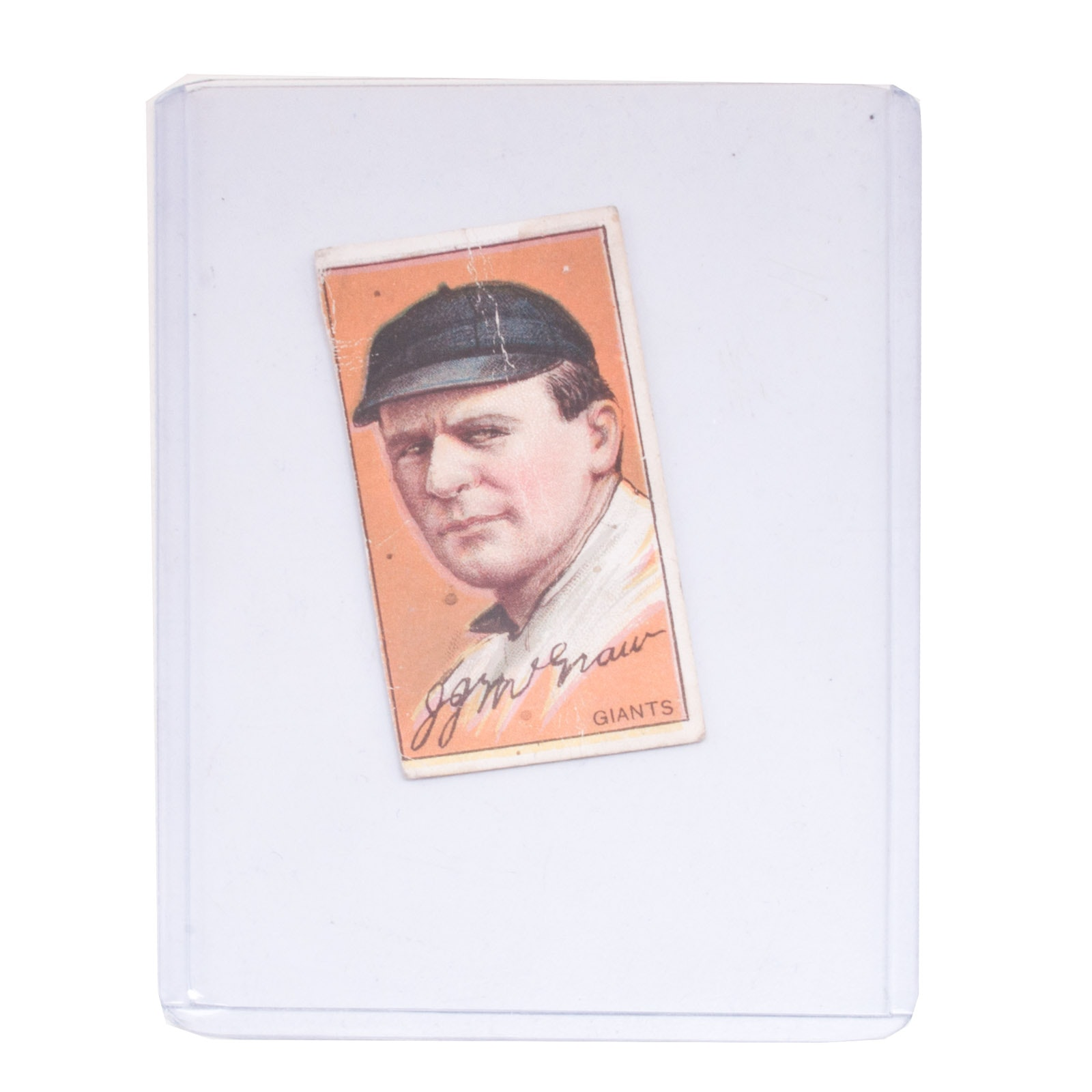 "Early 1900s John McGraw ""Hassan"" Tobacco Card"