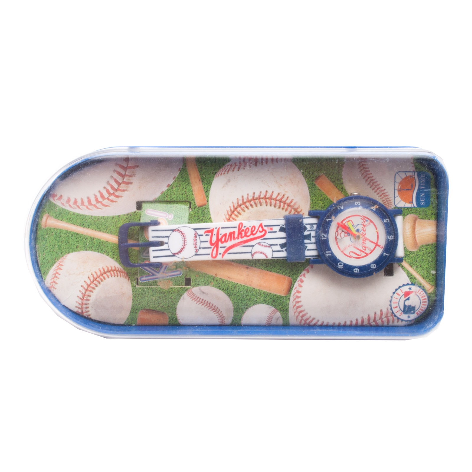 """""""Sun Times"""" New York Yankees Childs Watch In Case"""