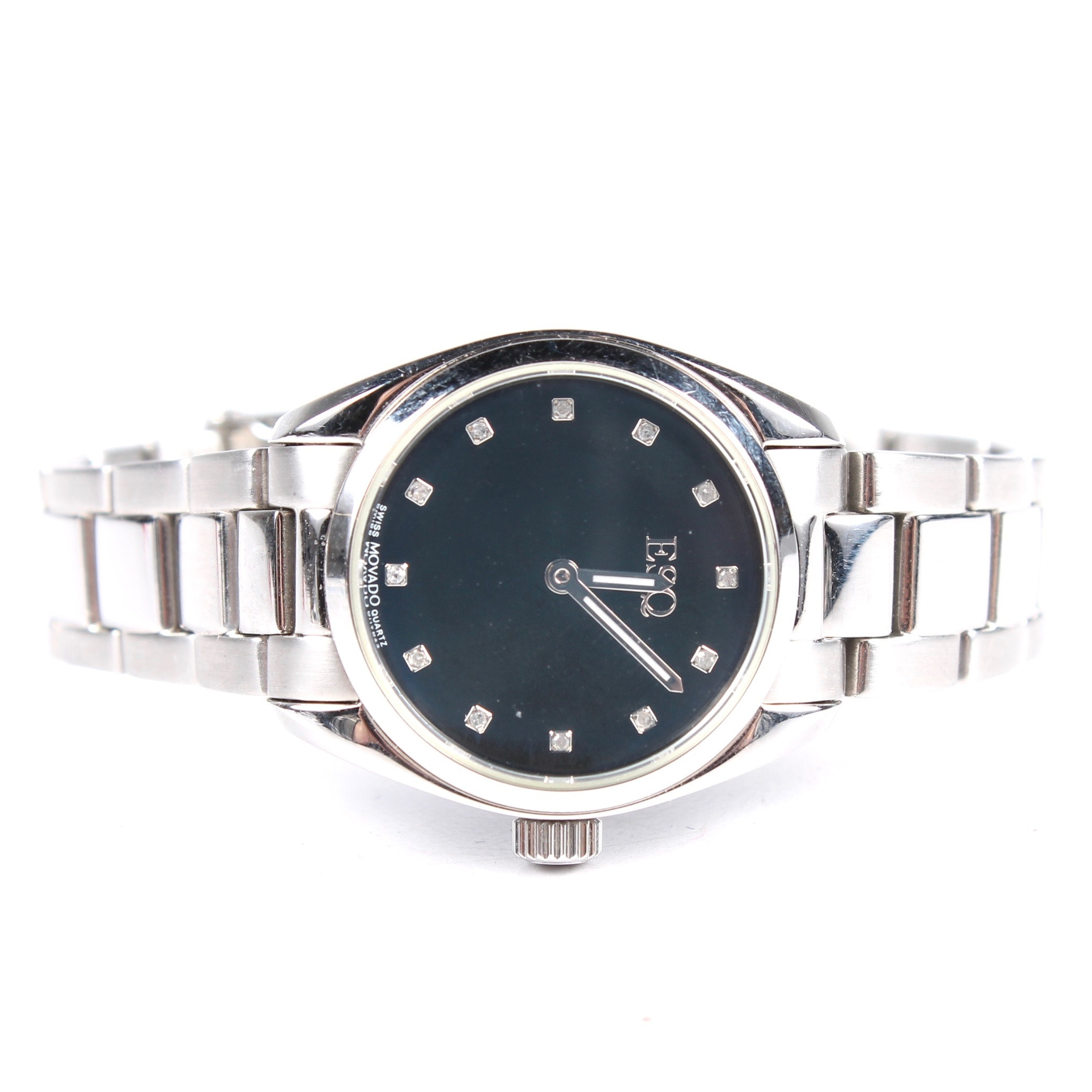 Movado ESQ Stainless Steel Wristwatch