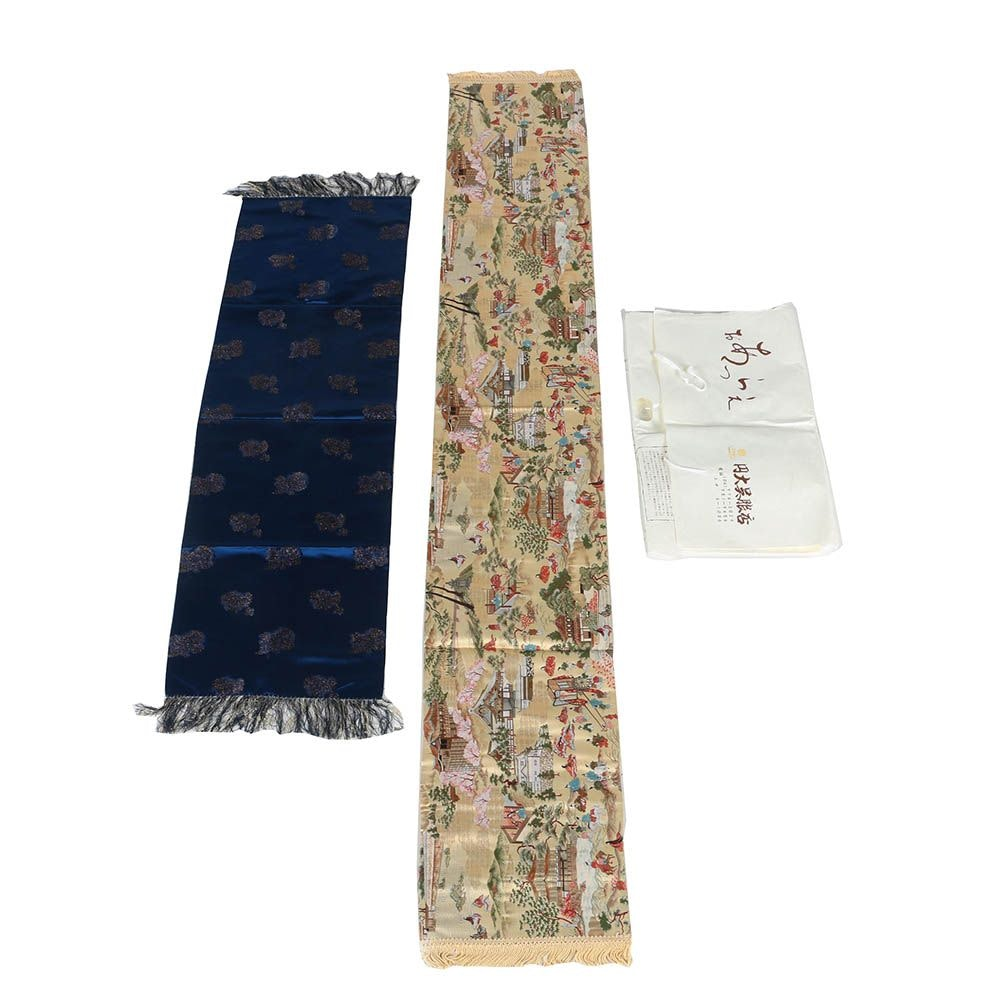 Japanese Jacquard Table Runners