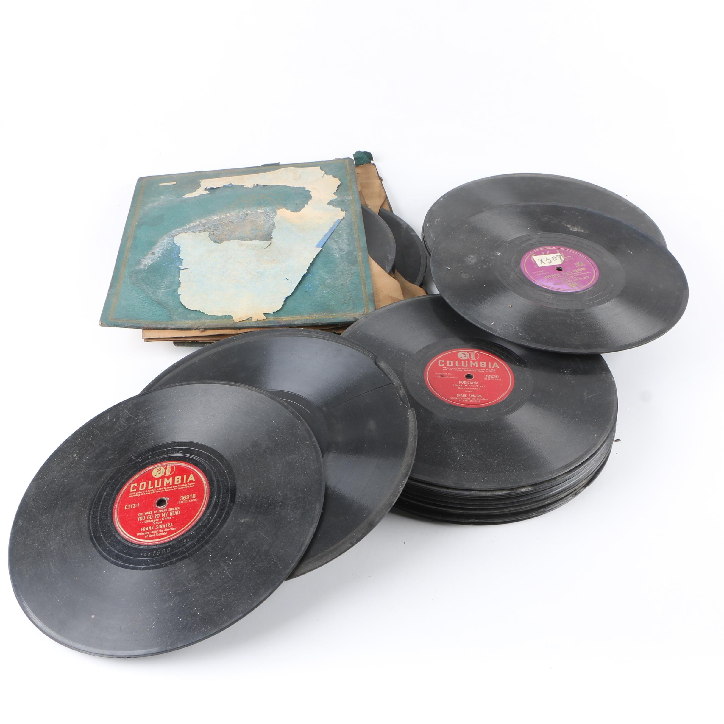"""Frank Sinatra, The Stardusters """"Remember Pearl Harbor"""" and More 78 rpm Records"""