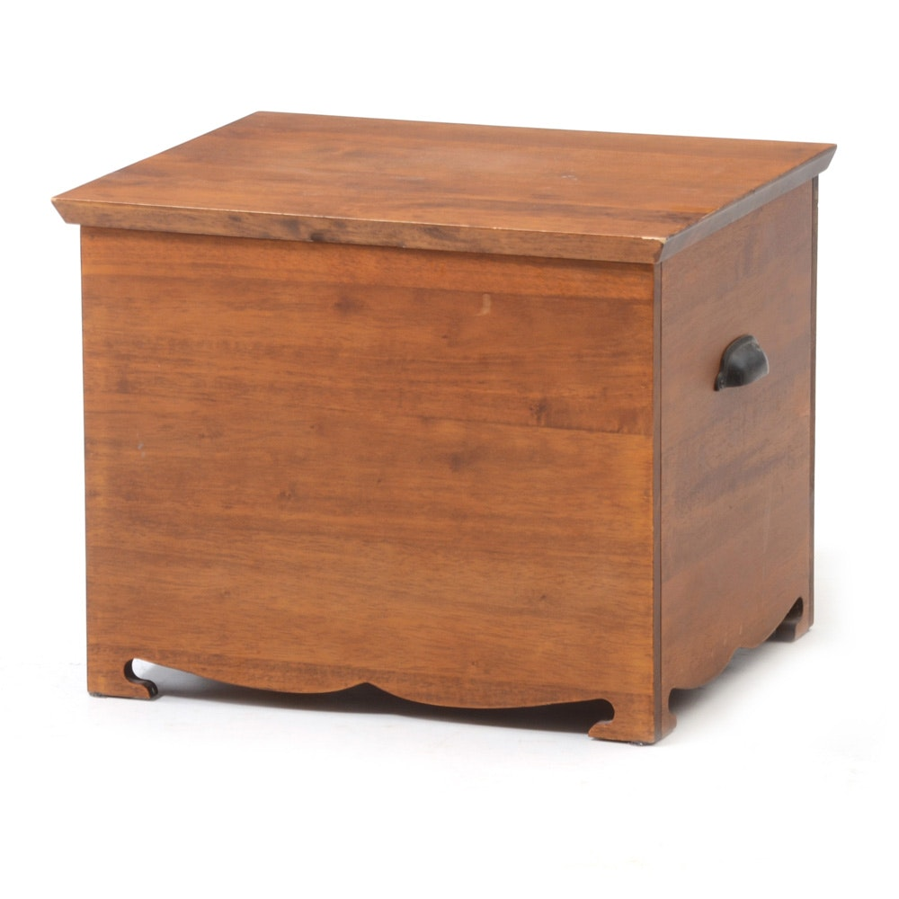 Wood File Storage Trunk