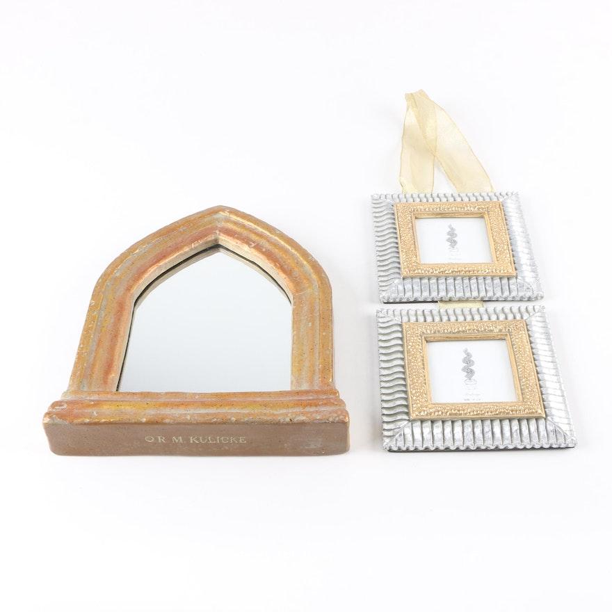 R.M. Kulicke Italian Gothic Arch Mirror and Photo Frames : EBTH
