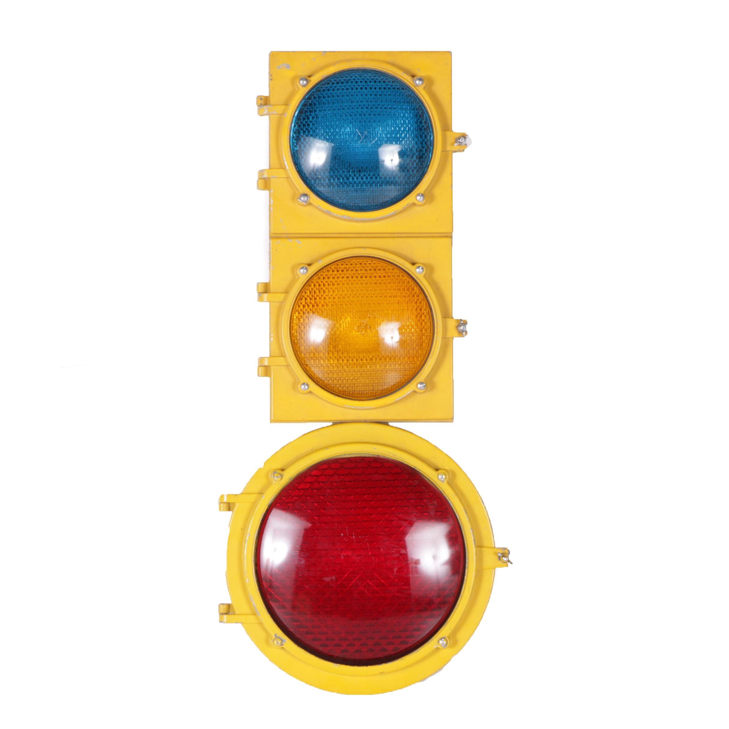 Vintage Econolite Traffic Light
