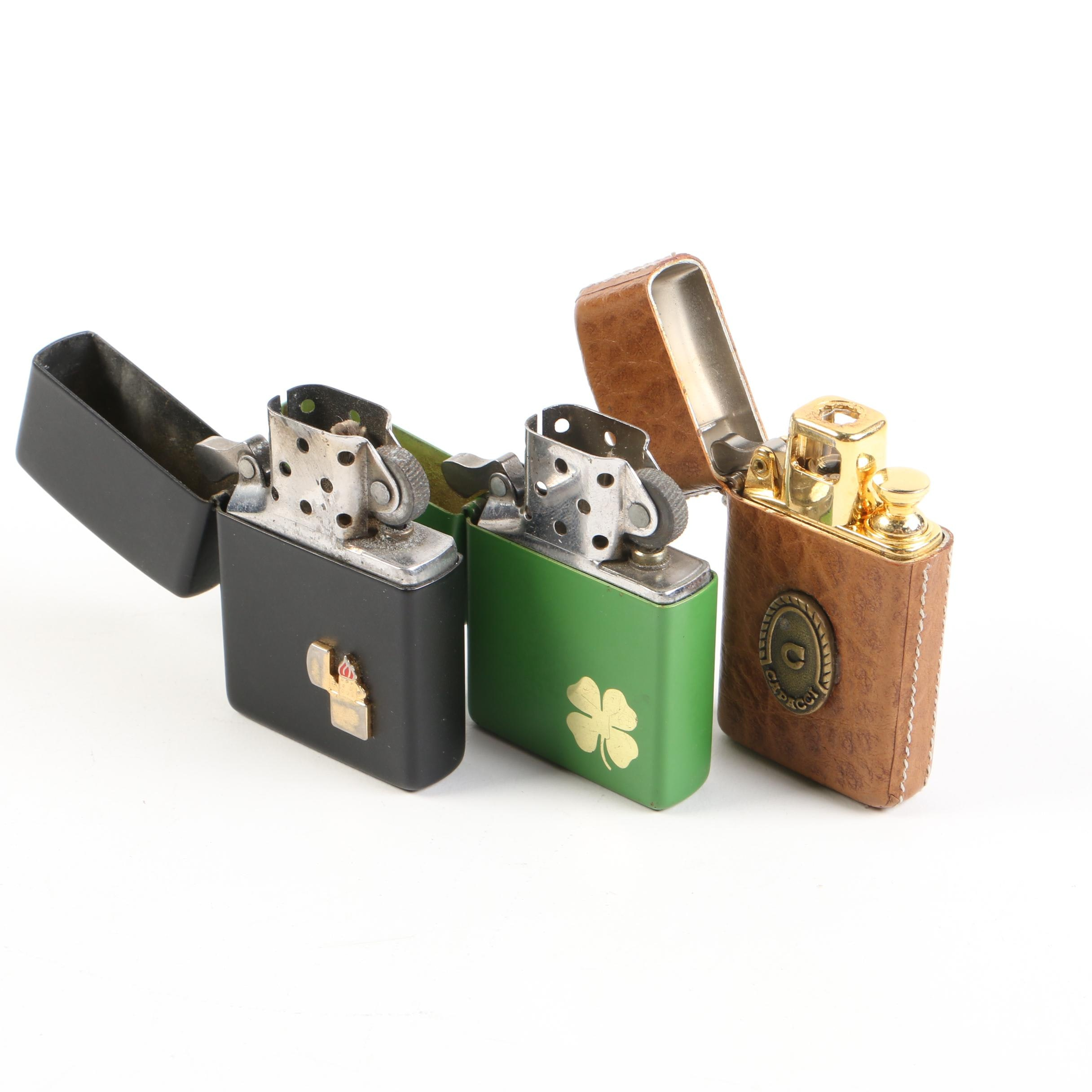Zippo and Capucci Lighters