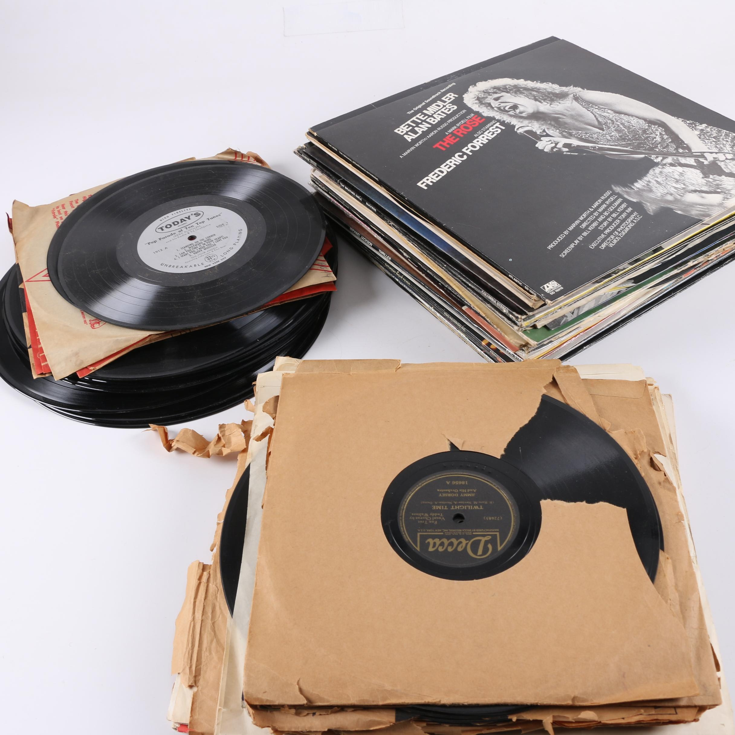 Prince, Bette Midler, Michael Jackson and Other Assorted LPs