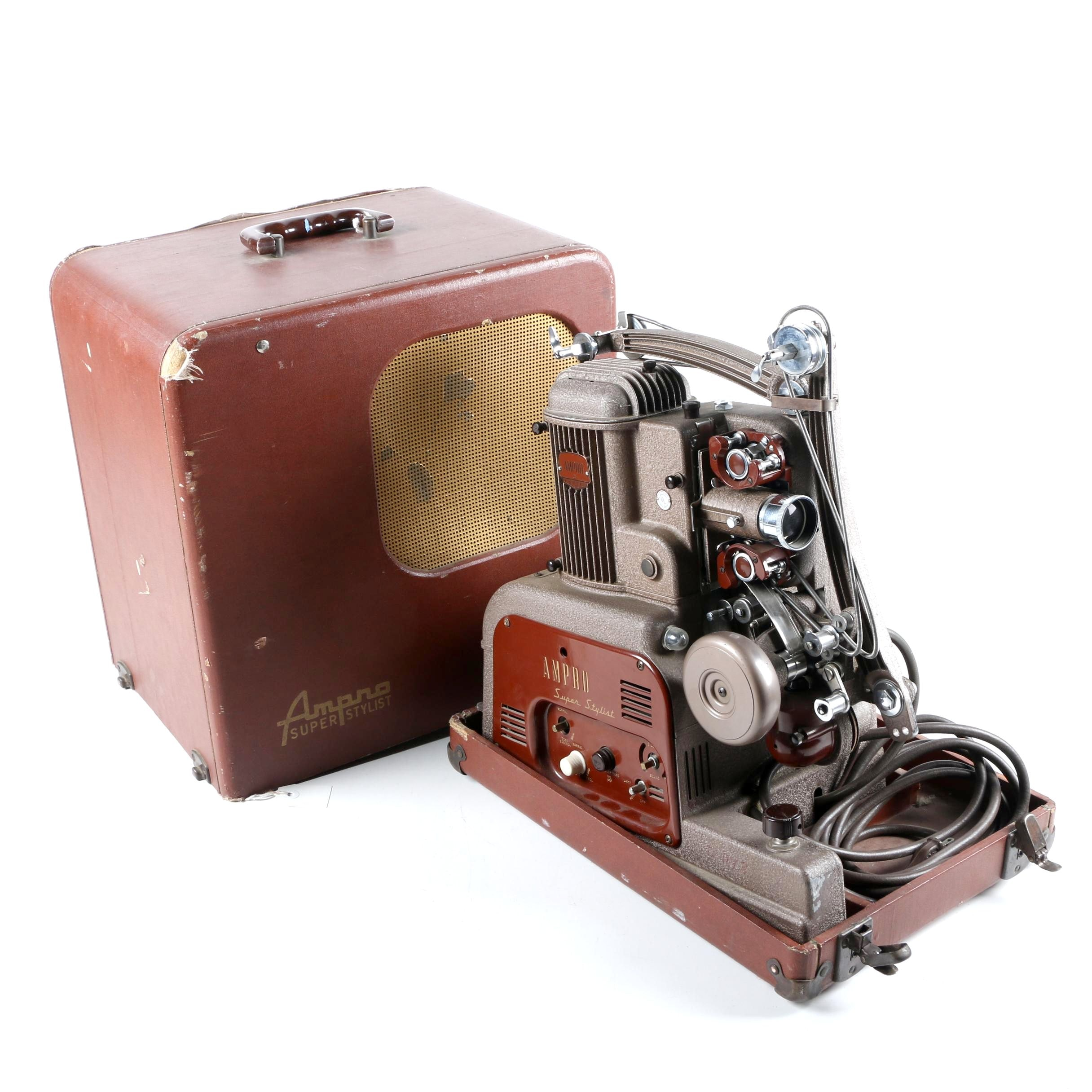 16MM Ampro Super Stylist Projector
