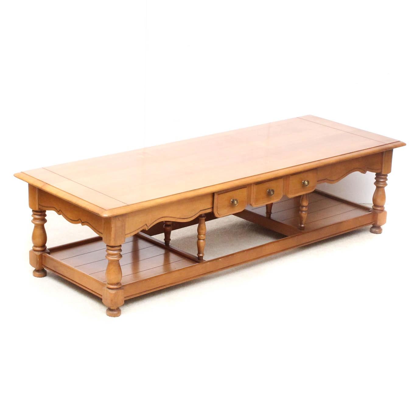 Bassett Solid Wood Coffee Table