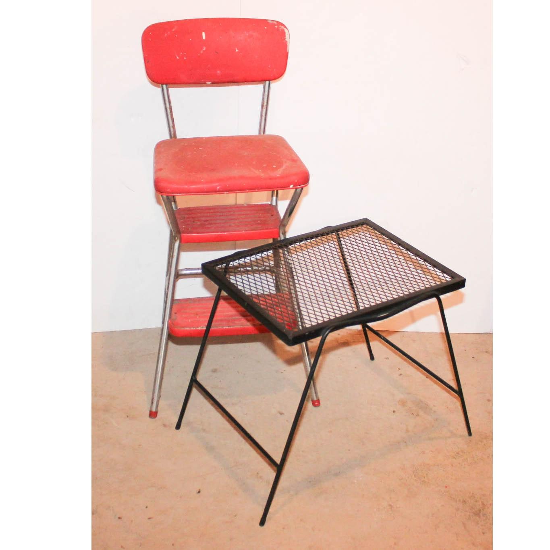 Vintage Metal Accent Furniture