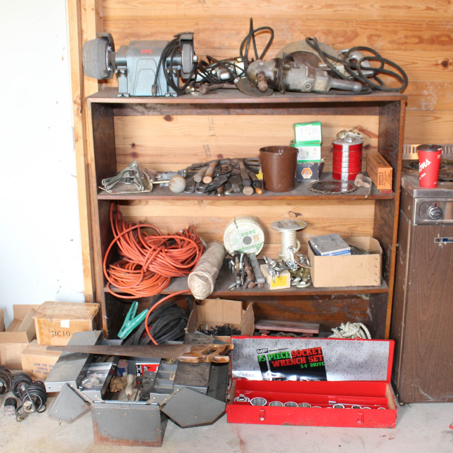 Vintage Power Tools, Hand Tools, and Workshop Accessories
