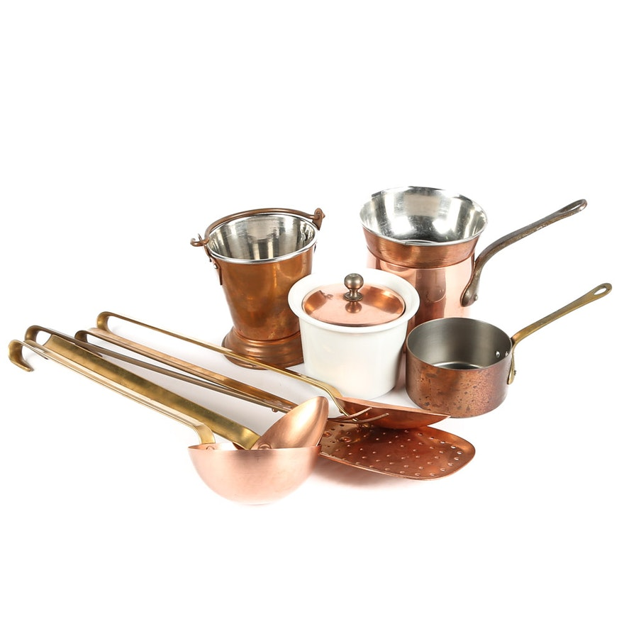 Copper Kitchen Accessories and Utensils : EBTH
