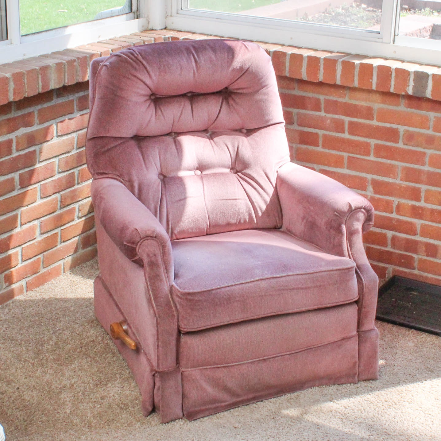 Vintage Reclining Armchair