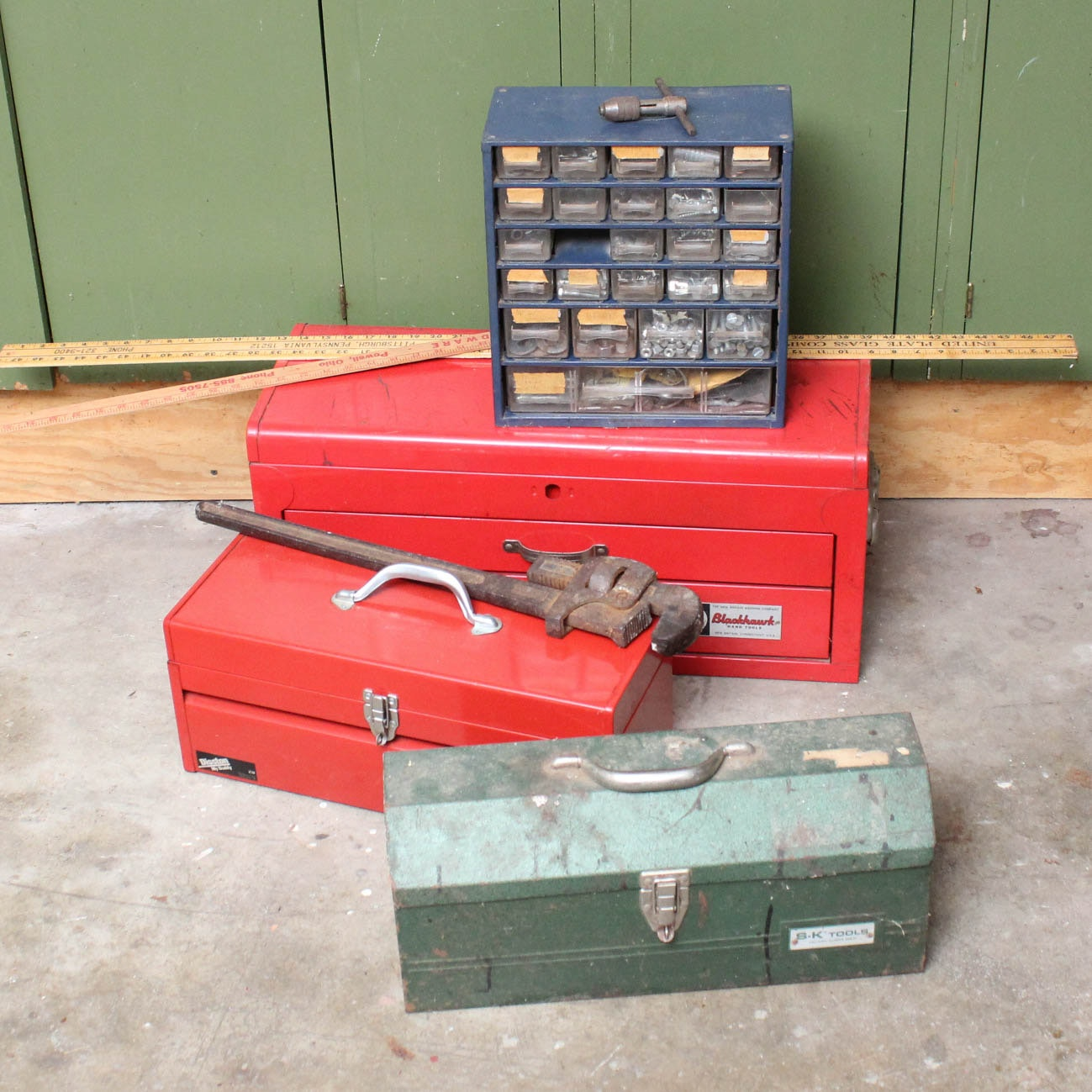 Tools, Toolboxes and Supplies