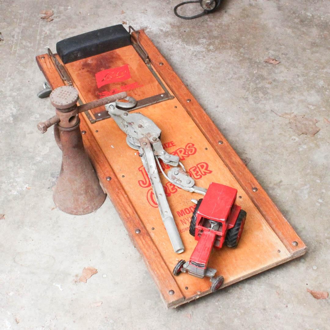 Retro Garage Tools