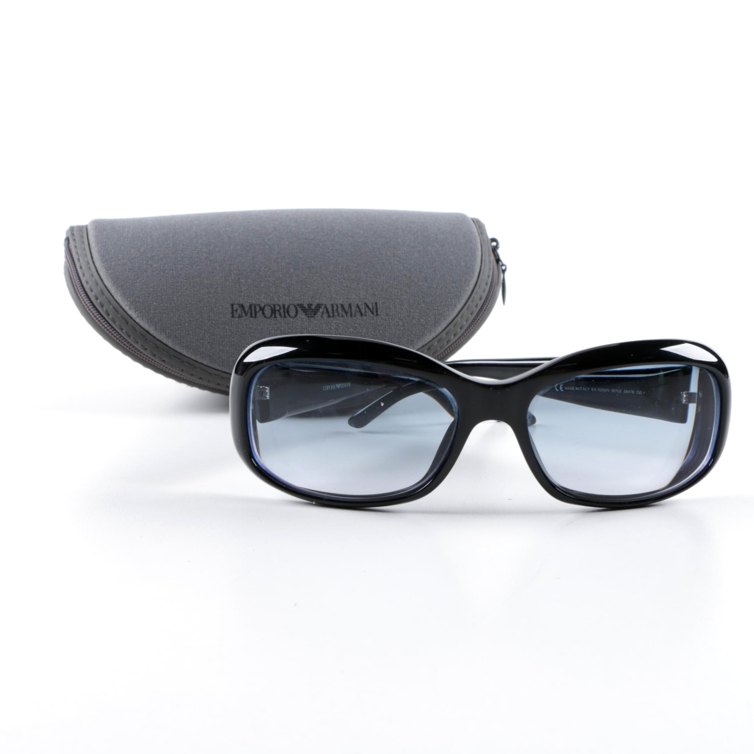 Emporio Armani 9350/S Sunglasses with Case