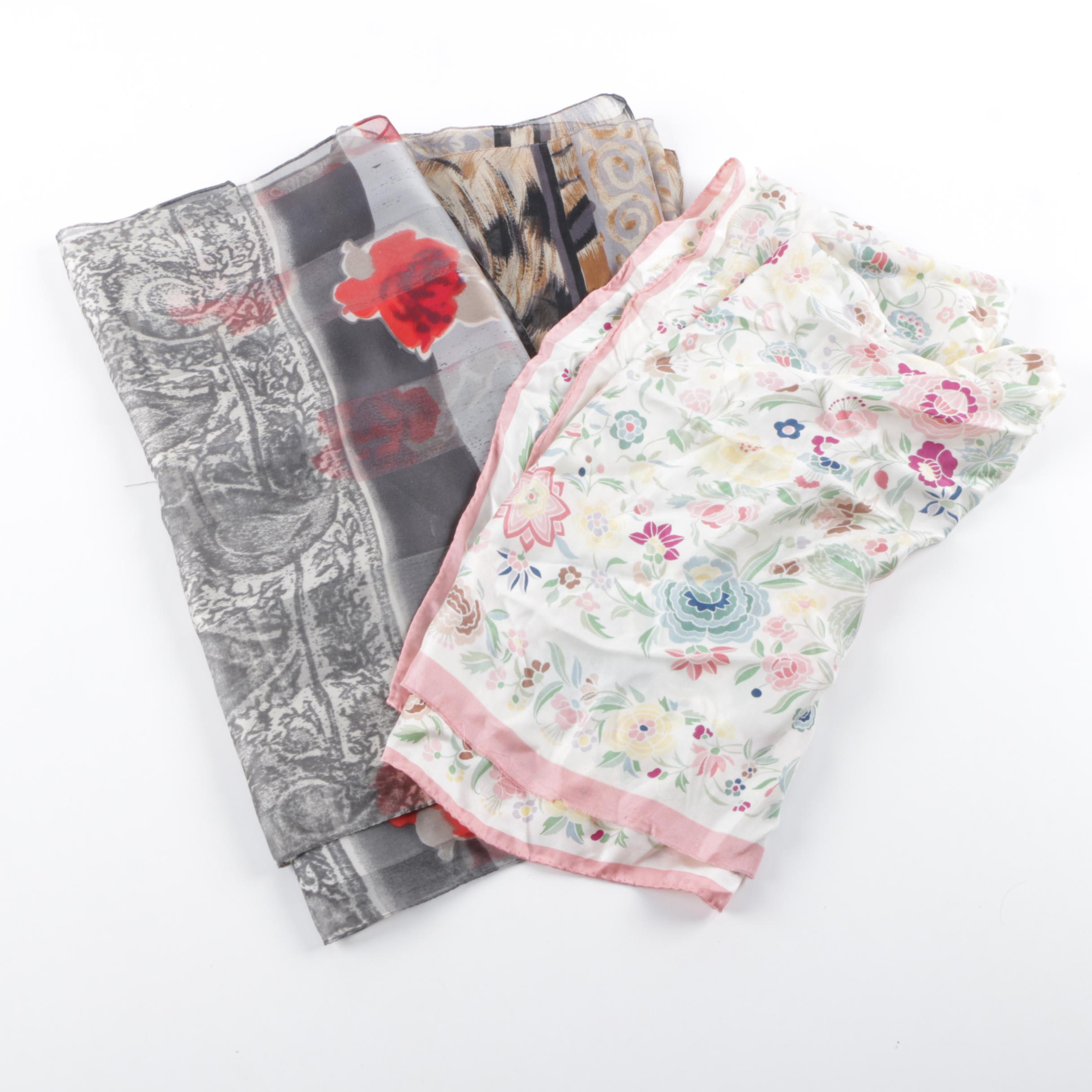 Women's Fashion Scarves Including Smithsonian Institution