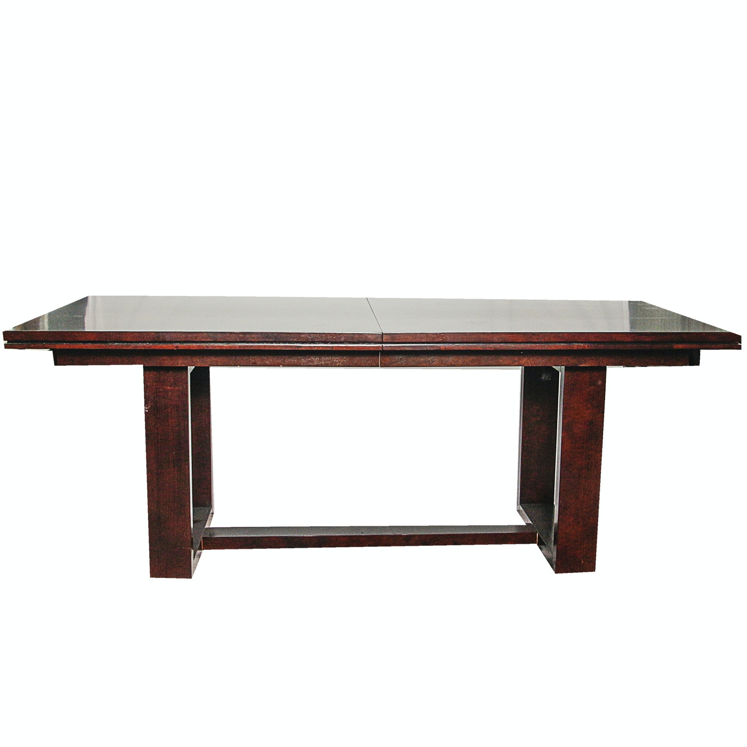 "Cherry Finished ""Belaire"" Dining Table by O-Palier"